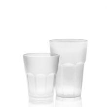 Bicchieri satiniati policarbonato