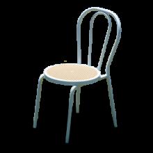 Sedia vienna bianca impilabile