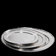 Vassoio in acciaio buffet