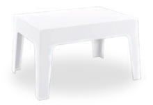 tavolo bianco box